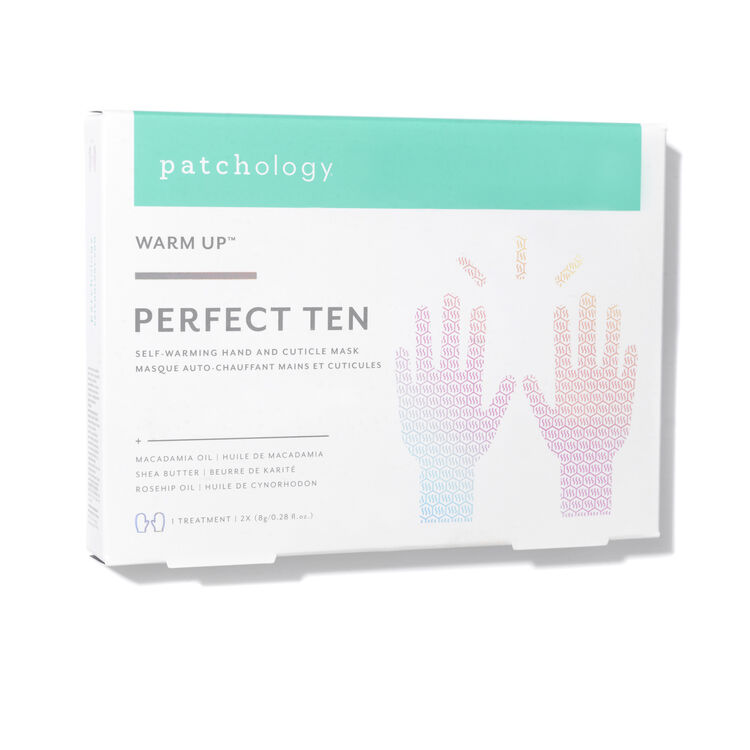 Perfect Ten Self-Warming Hand and Cuticle Mask, , large