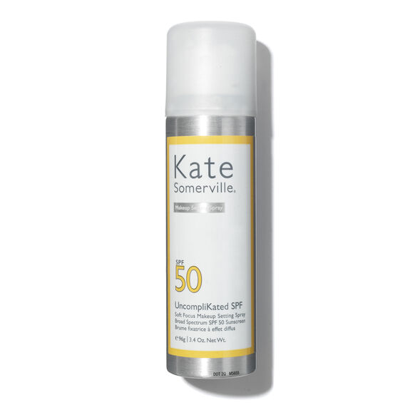 UncompliKated SPF 50 Soft Focus Makeup Setting Spray, , large, image1