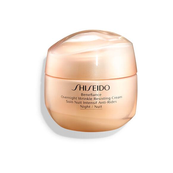 Benefiance Overnight Wrinkle Resisting Cream, , large, image1
