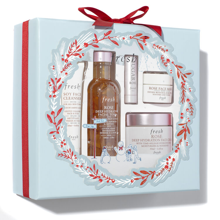 Rose Hydration Skincare Set, , large