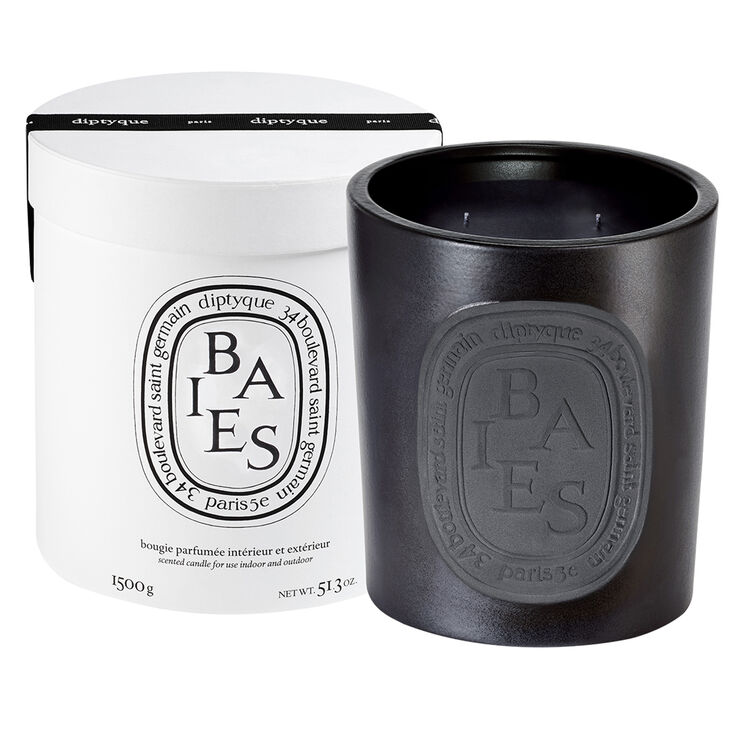 Black Baies Large Scented Candle, , large