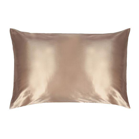 Silk Pillowcase - Queen Standard, CARAMEL, large, image1