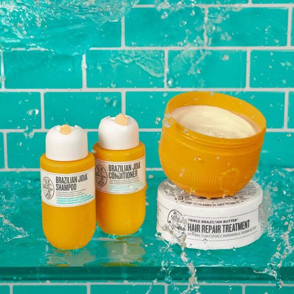 Triple Brazilian Butter Hair Repair Mask Set, , large, image2