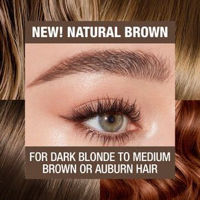 Brow Cheat Refill, NATURAL BROWN, large