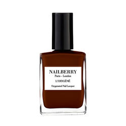 Grateful Oxygenated Nail Lacquer by Nailberry, OXYGYNATED GUAVA PINK, large