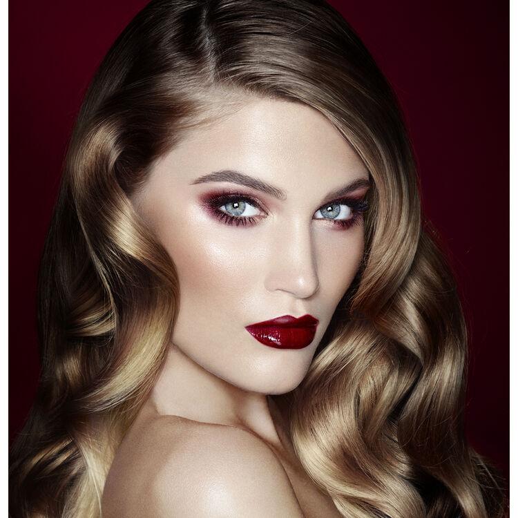 The Vintage Vamp Makeup Look, , large