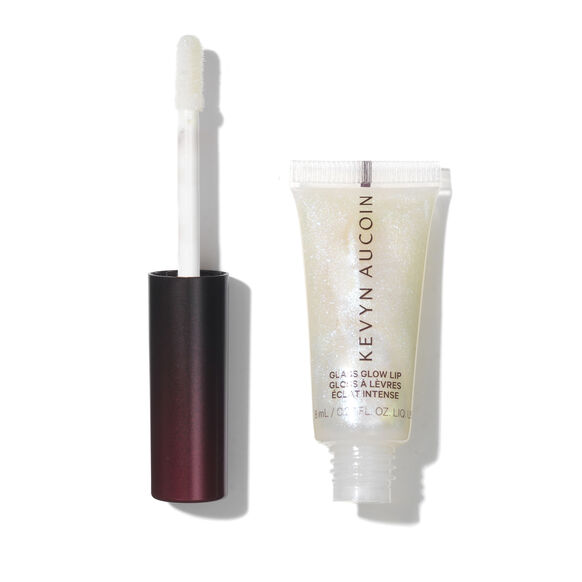 Glass Glow Lip Gloss, CRYSTAL CLEAR, large, image2
