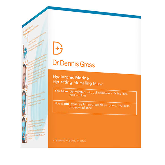 Hyaluronic Marine Hydrating Modeling Mask - 4 Treatments, , large, image4