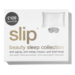 Beauty Sleep Gift Set - White Queen & Black Leopard Mask, WHITE QUEEN & BLACK LPARD MASK, large