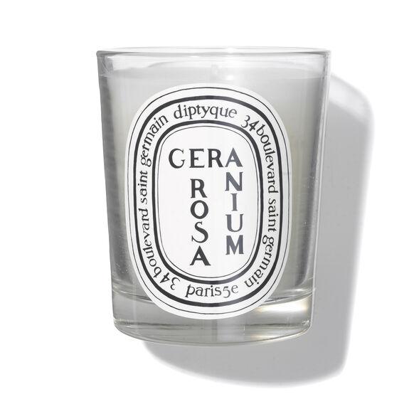 Geranium Rosa Scented Candle 6.7oz, , large, image_1