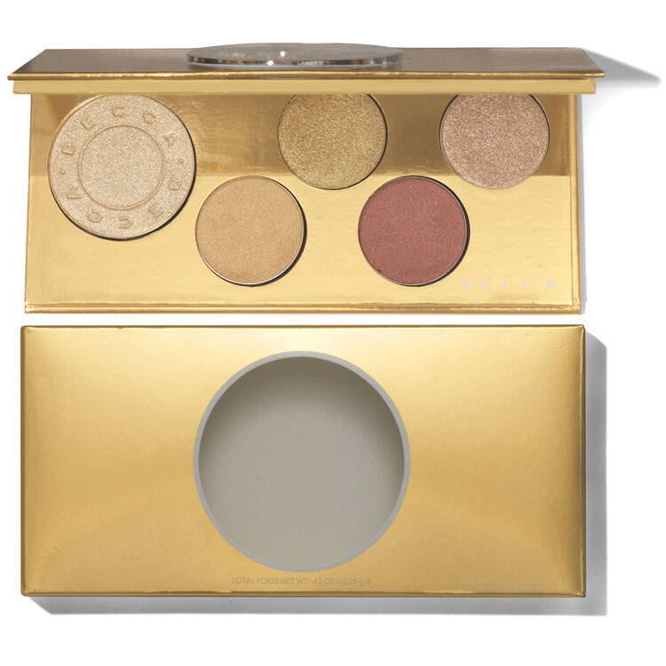 Pop Goes the Glow Champagne Pop Face & Eye Palette, , large