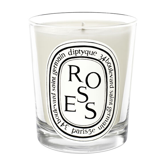 Roses Scented Candle 190g, , large, image1