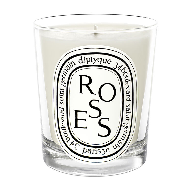 Roses Scented Candle 190g, , large