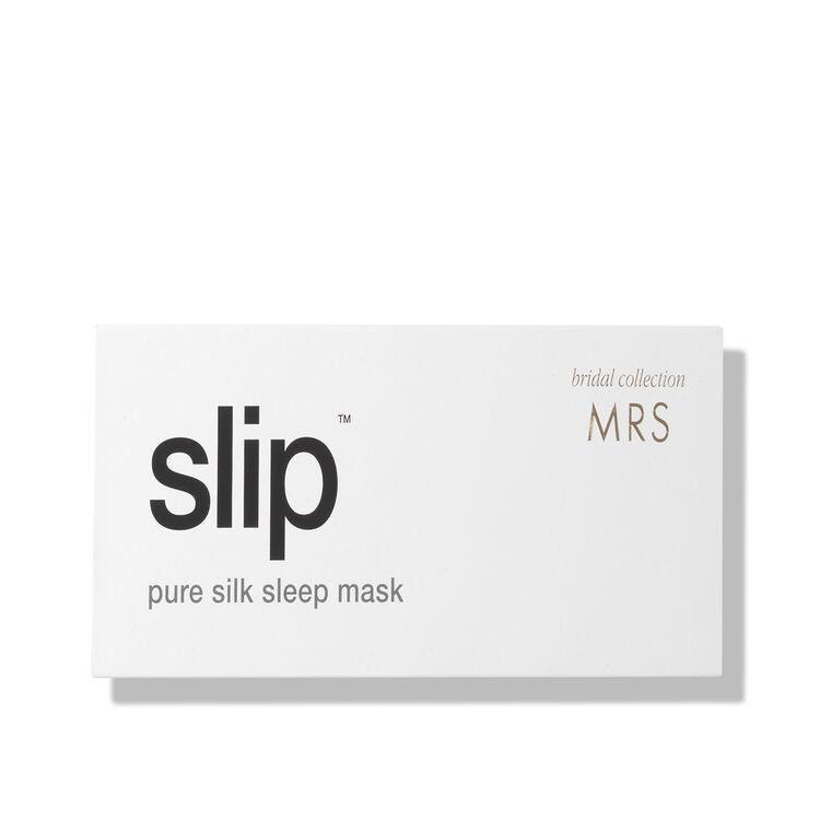 Silk Bridal Sleep Mask, MRS, large