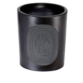 Black Baies Large Scented Candle