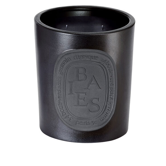 Black Baies Large Scented Candle, , large, image_1