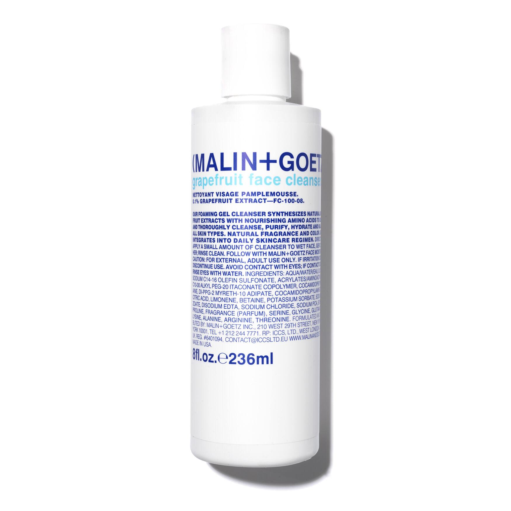 2 Pack - Malin + Goetz Face Cleanser, Grapefruit 8 oz Buchu Leaf (Organic) - Cream (2 oz, ZIN: 428451) - 2-Pack