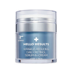 Hello Results Wrinkle-Reducing Daily Retinol Serum-in-Cream, , large