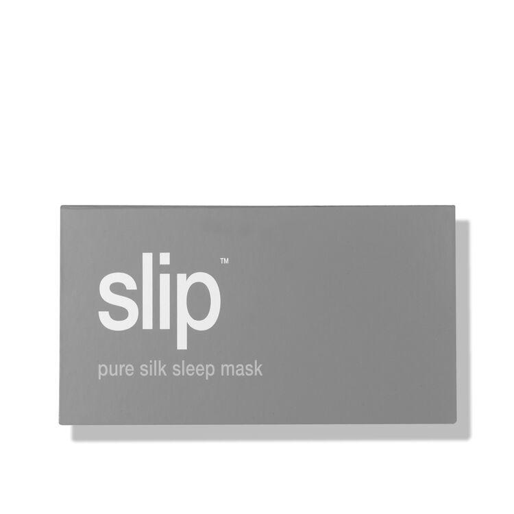Silk Sleep Mask, SILVER, large
