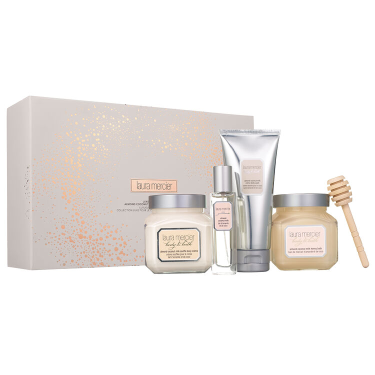 Luxe Indulgences Almond Coconut Milk Body Collection, , large