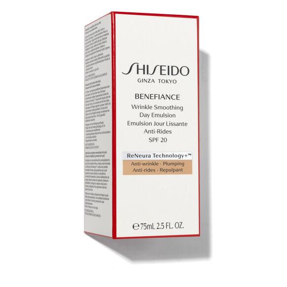 Benefiance Wrinkle Smoothing Day Emulsion SPF 20, , large, image5