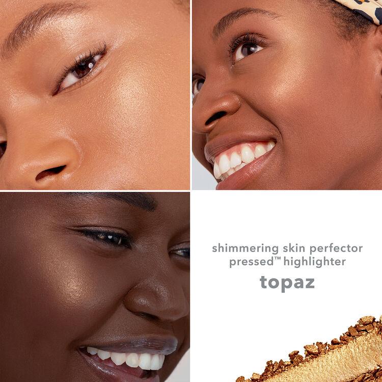 Shimmering Skin Perfector Pressed Highlighter, TOPAZ, large
