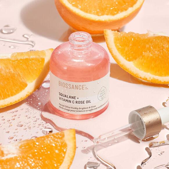 Squalane + Vitamin C Rose Oil, , large, image7