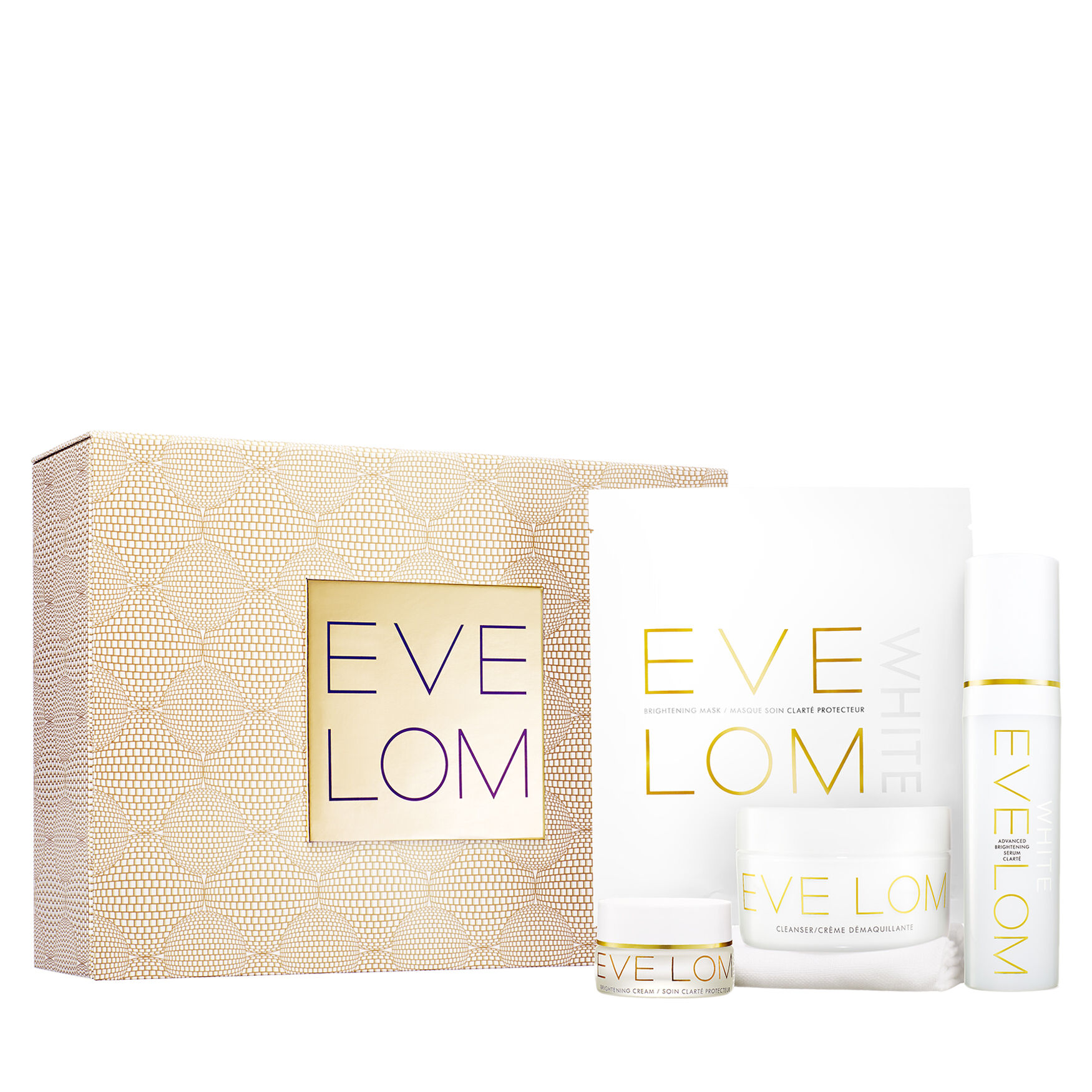 Eve Lom Perfecting Ritual 4-Piece Set jurlique herbal recovery advanced serum - 30ml/1oz