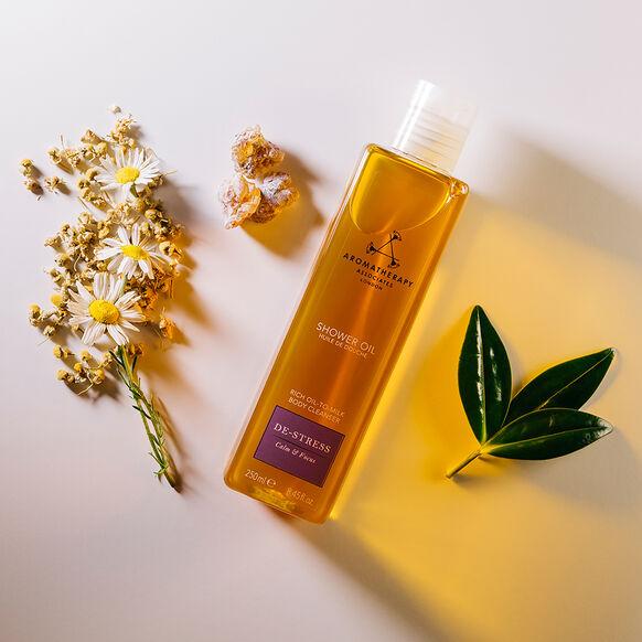 De-Stress Shower Oil, , large, image3