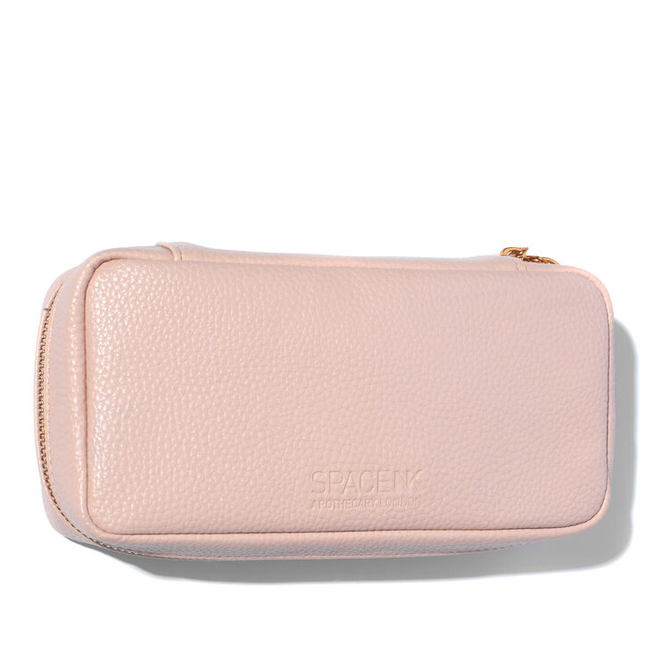 Makeup Bag by Space NK, BLUSH PINK, large