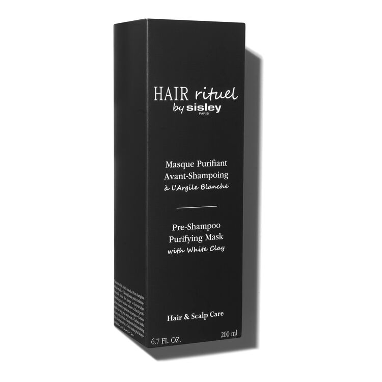 Hair Rituel Pre-Shampoo Purifying Mask with White Clay, , large