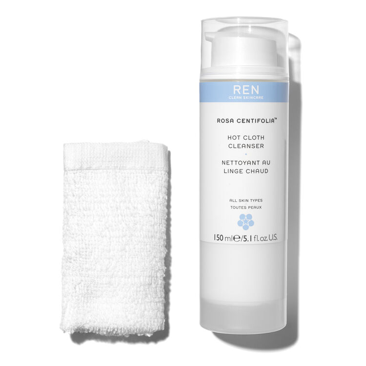 Rosa Centifolia Hot Cloth Cleanser, , large