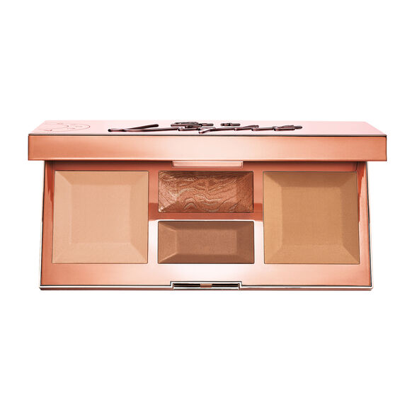 Be A Light Face Palette, MEDIUM TO DEEP, large, image1
