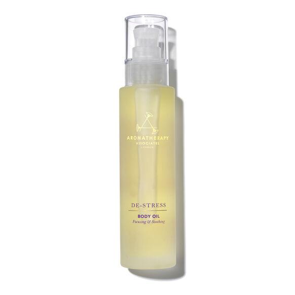 De-Stress Massage Body Oil, , large, image1