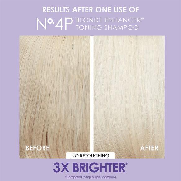 No. 4P Blonde Enhancer Toning Shampoo, , large, image5