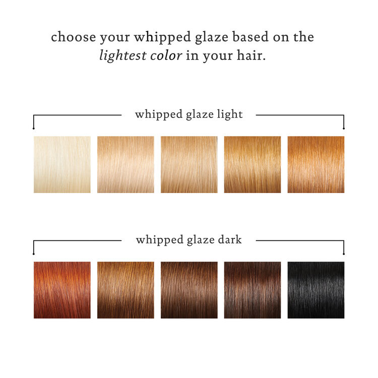 Color Care Whipped Glaze for Darker Tones, , large