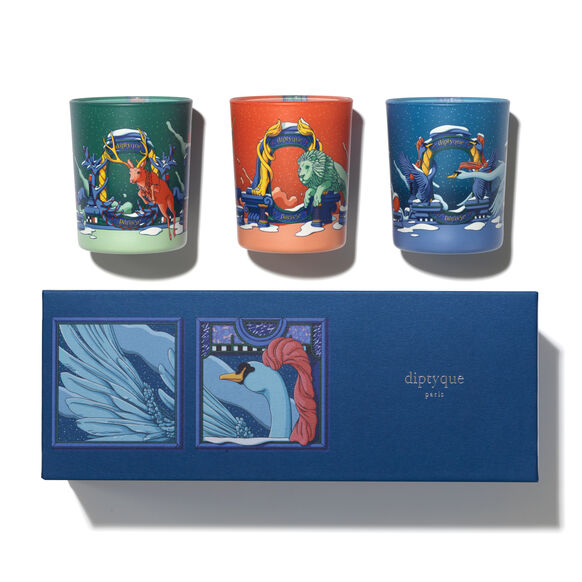 Set of 3 Candles, , large, image1