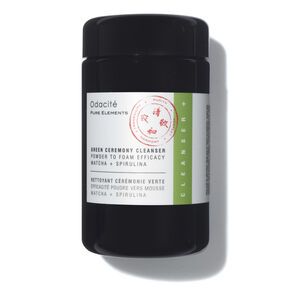 Green Ceremony Cleanser Powder To Foam Efficacy Matcha + Spirulina, , large