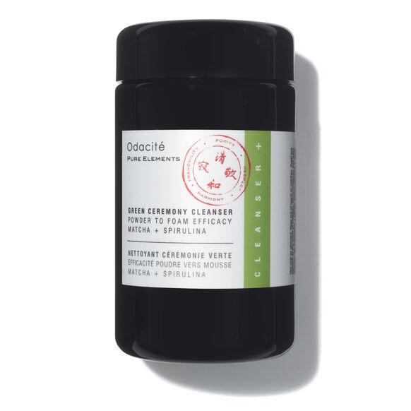 Green Ceremony Cleanser Powder To Foam Efficacy Matcha + Spirulina, , large, image1