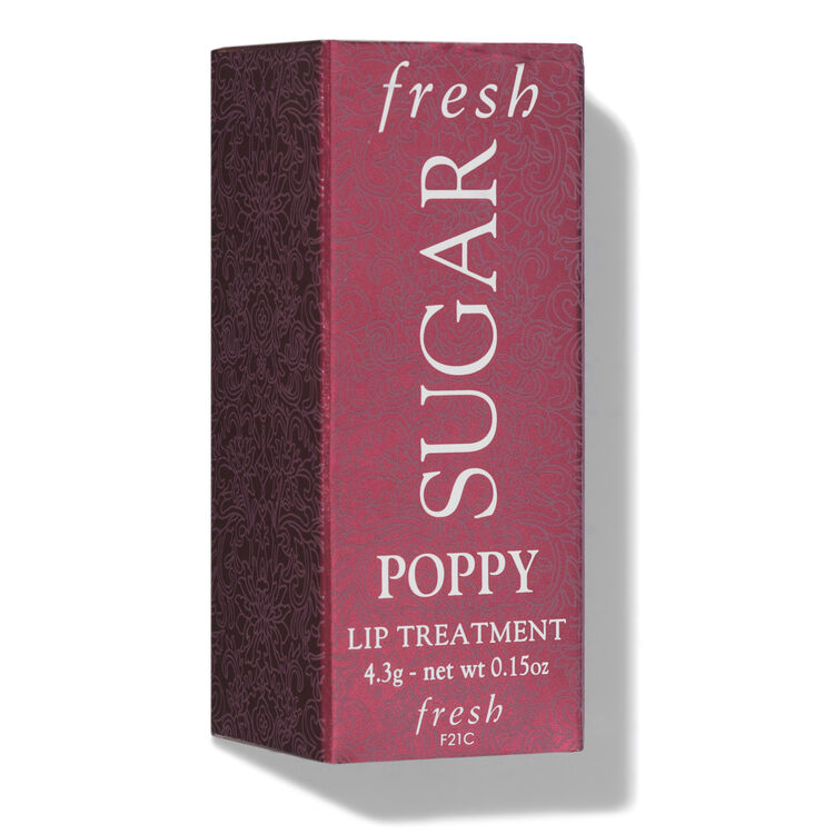 Sugar Lip Treatment SPF15, POPPY, large