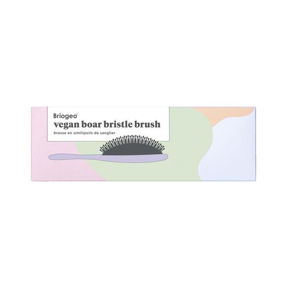 Vegan Boar Bristle Hair Brush, , large, image4