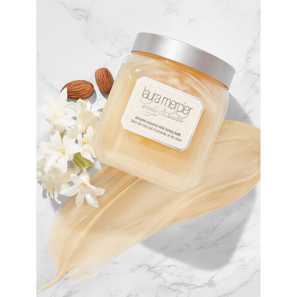 Almond Coconut Milk Honey Bath, , large, image4