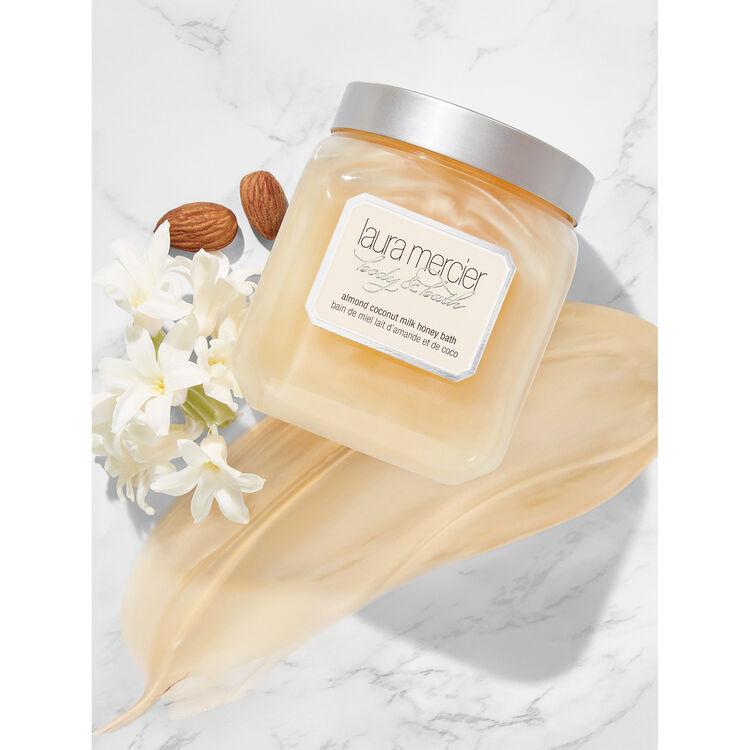 Almond Coconut Milk Honey Bath, , large