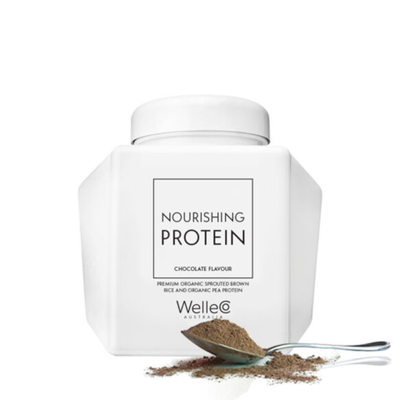 The Super Elixir Nourishing Protein Caddy Chocolate, , large, image1