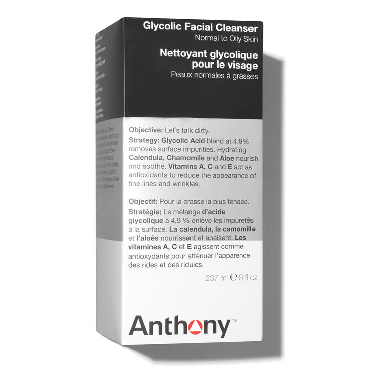 Glycolic Facial Cleanser, , large