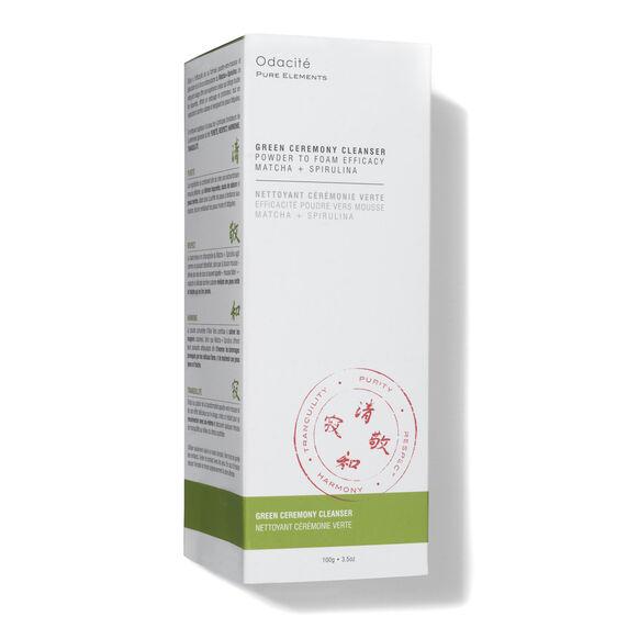 Green Ceremony Cleanser Powder To Foam Efficacy Matcha + Spirulina, , large, image4