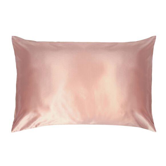 Silk Pillowcase - Queen Standard, PINK, large, image1