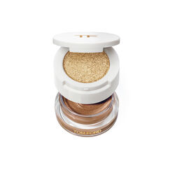 Cream And Powder Eye Colour, GOLDEN PEACH 2.2G, large