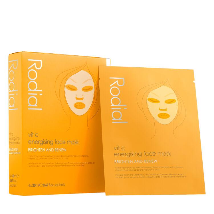 Vit C Energising Sheet Mask, , large