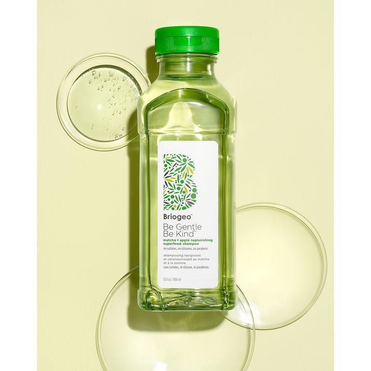 Be Gentle, Be Kind™ Matcha + Apple Replenishing Superfood Shampoo, , large
